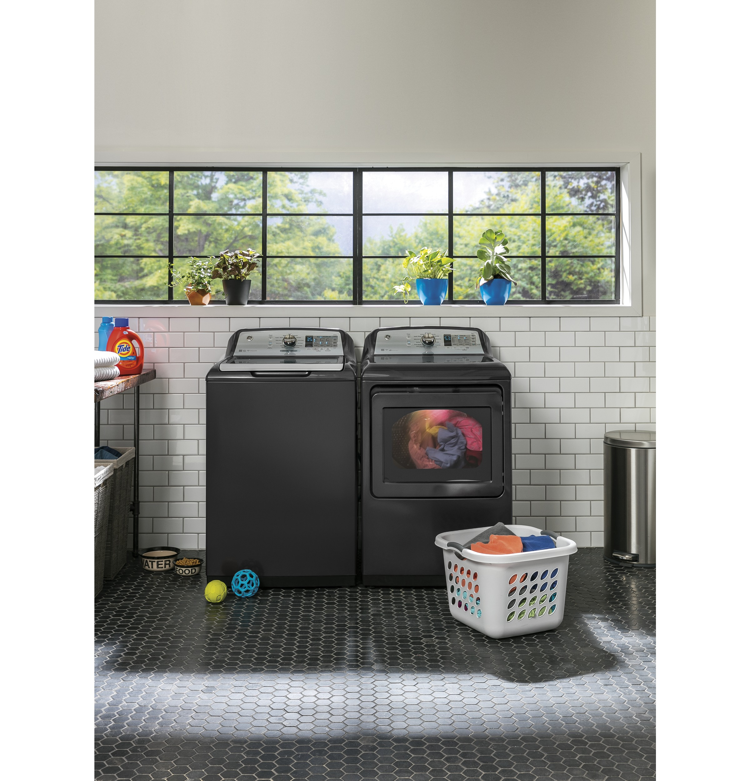 GE Diamond washer and dryer combo