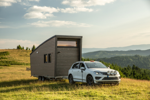 vehicles for towing tiny houses