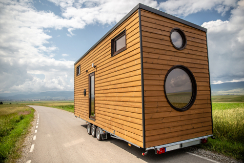 Tiny home without towing vehicle