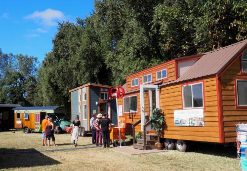 Tiny Home Village in Auburn, California