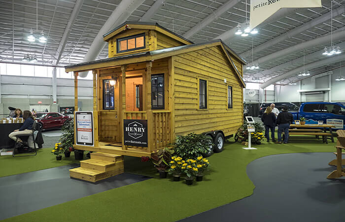 Tiny House on Display