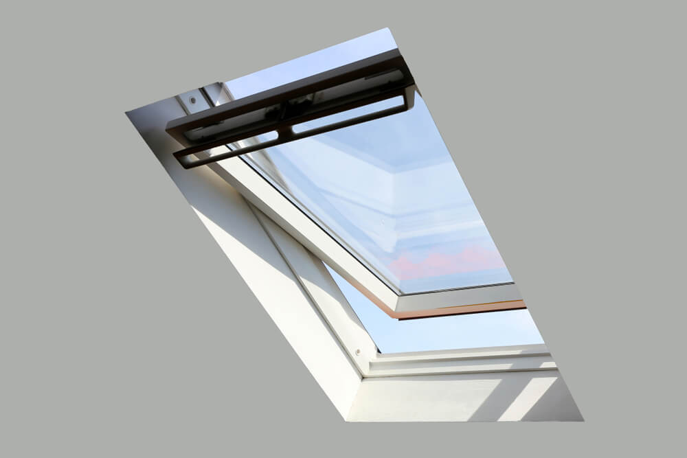 right window for a tiny house skylights