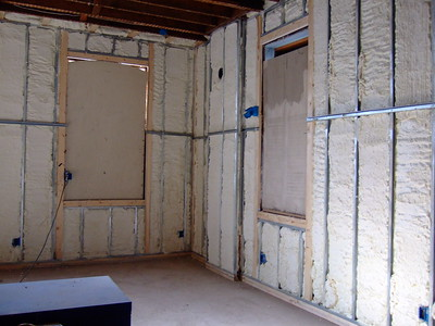 insulating a small home