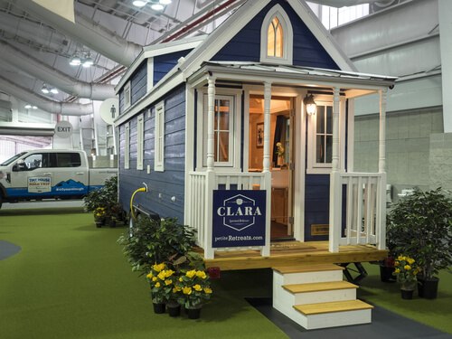 CLARA tiny home builder