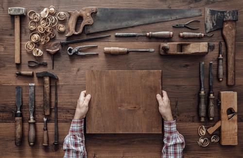 tiny house build construction tools