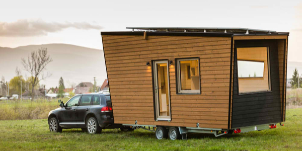 Mobile tiny house. Great for outdoor experiences and wildlife. Lots of mobility and pure adventure.