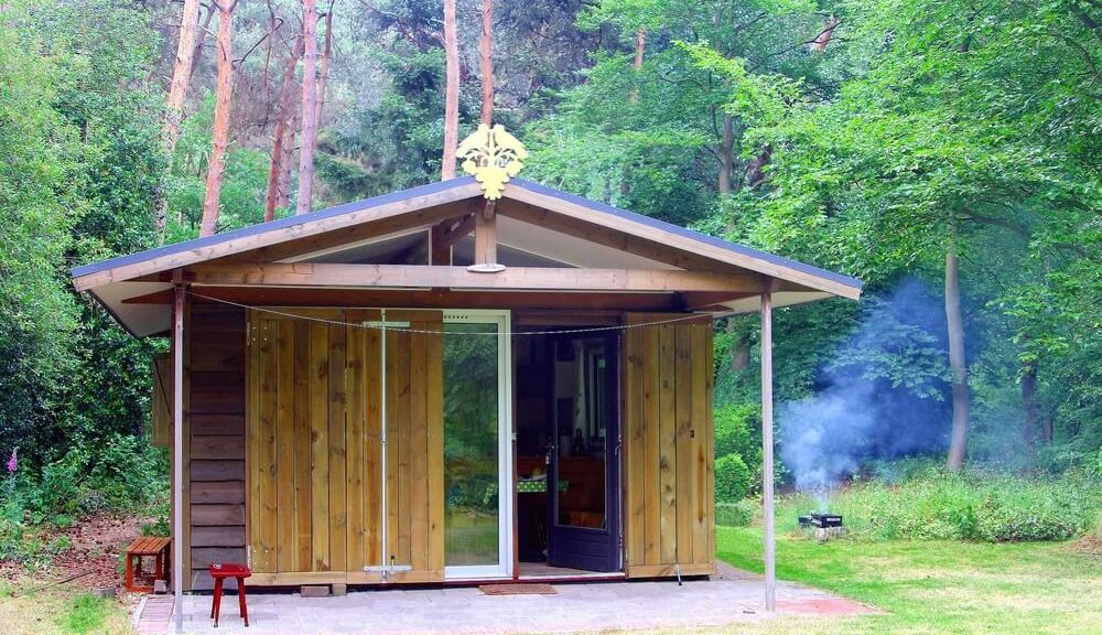tiny home safety - tiny house in the woods