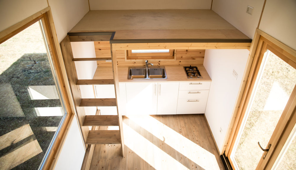 tiny house rooms - tiny house interior daytime